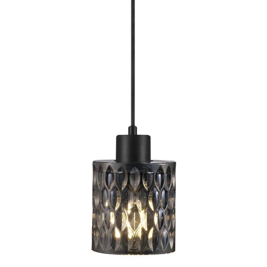 Pendul design modern Hollywood, sticla fumurie 46483047 NL, Promotii si Reduceri⭐ Oferte ✅Corpuri de iluminat ✅Lustre ✅Mobila ✅Decoratiuni de interior si exterior.⭕Pret redus online➜Lichidari de stoc❗ Magazin ➽ www.evalight.ro. a