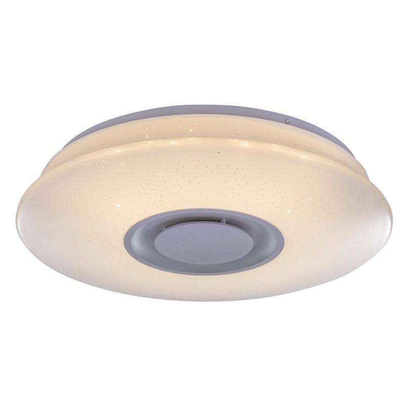 Plafoniera LED cu difuzor audio Bluetooth TUNE 41341-12 GL, Plafoniere LED, Spoturi LED, Corpuri de iluminat, lustre, aplice, veioze, lampadare, plafoniere. Mobilier si decoratiuni, oglinzi, scaune, fotolii. Oferte speciale iluminat interior si exterior. Livram in toata tara.  a