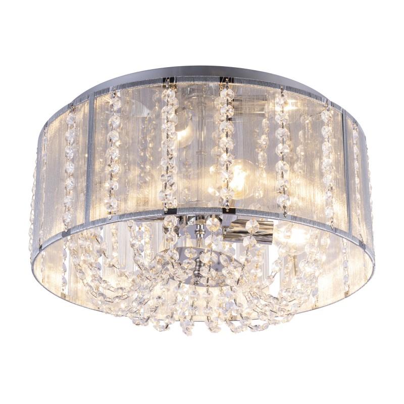 Lustra design elegant cu cristale K5 Ø40cm WALLA 15091D GL, Lustre aplicate, Plafoniere clasice, Corpuri de iluminat, lustre, aplice, veioze, lampadare, plafoniere. Mobilier si decoratiuni, oglinzi, scaune, fotolii. Oferte speciale iluminat interior si exterior. Livram in toata tara.  a