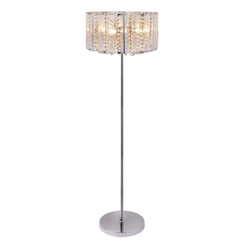 Lampadar design elegant cu cristale K5 WALLA 15091S GL, Lampadare clasice, Corpuri de iluminat, lustre, aplice, veioze, lampadare, plafoniere. Mobilier si decoratiuni, oglinzi, scaune, fotolii. Oferte speciale iluminat interior si exterior. Livram in toata tara.  a