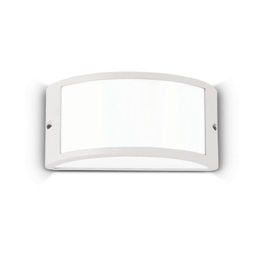 Aplica perete exterior design modern IP44 REX-1 AP1 WHITE 092393, Aplice de exterior moderne , Corpuri de iluminat, lustre, aplice, veioze, lampadare, plafoniere. Mobilier si decoratiuni, oglinzi, scaune, fotolii. Oferte speciale iluminat interior si exterior. Livram in toata tara.  a