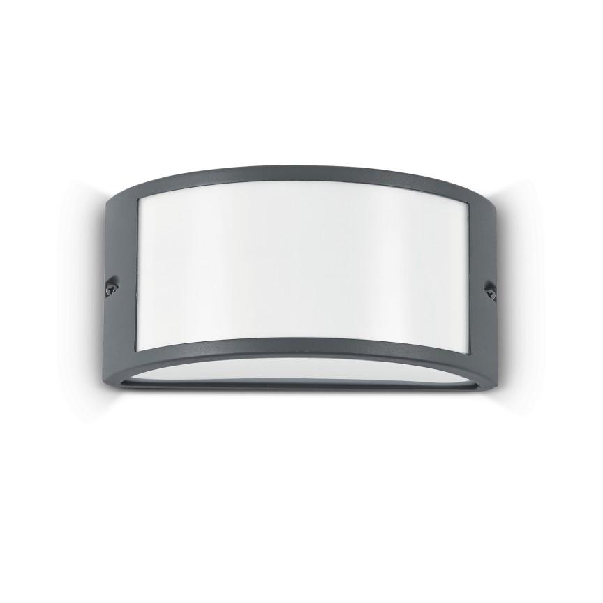 Aplica perete exterior design modern IP44 REX-1 AP1 ANTRACITE 092409, Aplice de exterior moderne , Corpuri de iluminat, lustre, aplice, veioze, lampadare, plafoniere. Mobilier si decoratiuni, oglinzi, scaune, fotolii. Oferte speciale iluminat interior si exterior. Livram in toata tara.  a