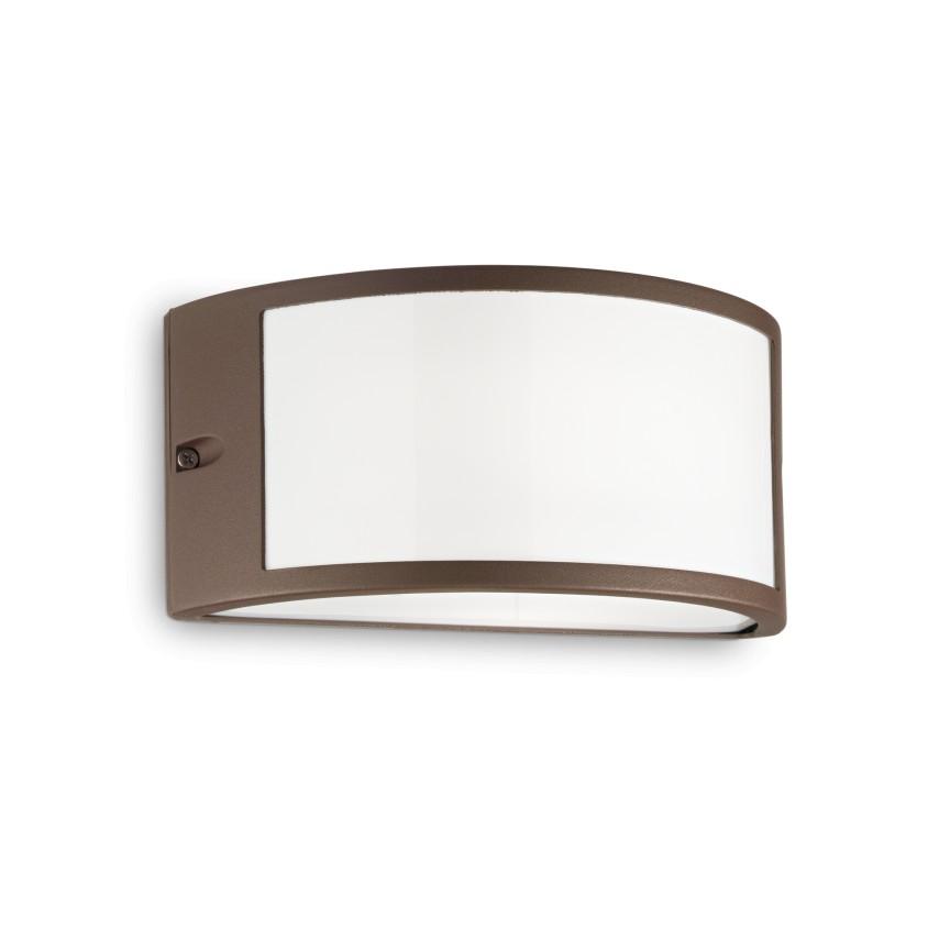 Aplica perete exterior design modern IP44 REX-1 AP1 COFFEE 213217, Aplice de exterior moderne , Corpuri de iluminat, lustre, aplice, veioze, lampadare, plafoniere. Mobilier si decoratiuni, oglinzi, scaune, fotolii. Oferte speciale iluminat interior si exterior. Livram in toata tara.  a