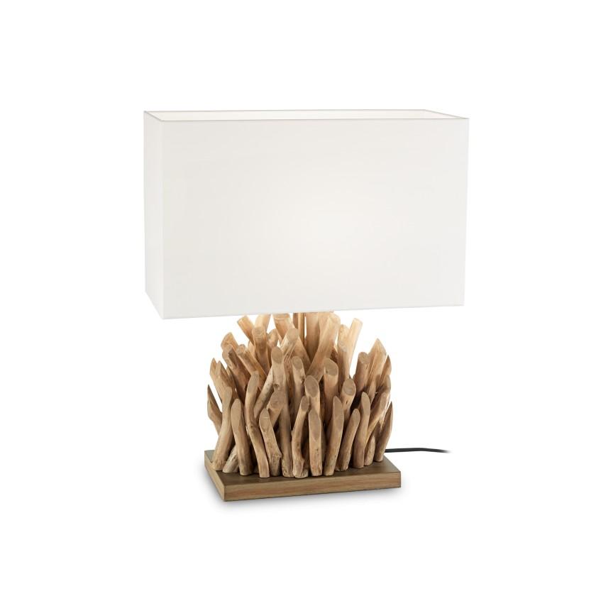Veioza design clasic SNELL TL1 BIG lemn natural 201399, Veioze, Corpuri de iluminat, lustre, aplice, veioze, lampadare, plafoniere. Mobilier si decoratiuni, oglinzi, scaune, fotolii. Oferte speciale iluminat interior si exterior. Livram in toata tara.  a