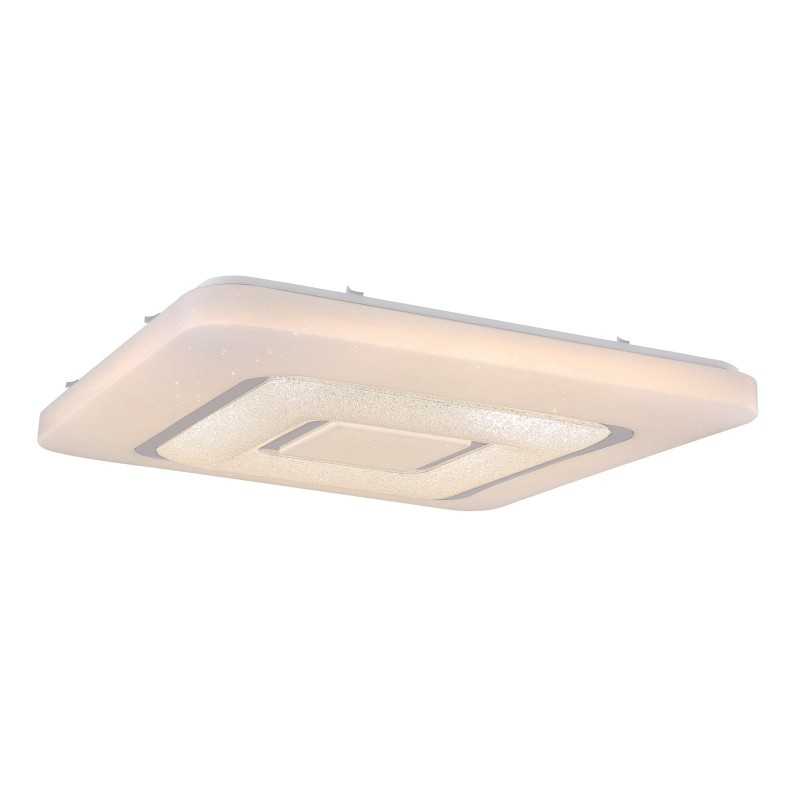 Plafoniera LED cu telecomanda design slim BERTI 48407-80 GL, Lampi LED si Telecomanda, Corpuri de iluminat, lustre, aplice, veioze, lampadare, plafoniere. Mobilier si decoratiuni, oglinzi, scaune, fotolii. Oferte speciale iluminat interior si exterior. Livram in toata tara.  a