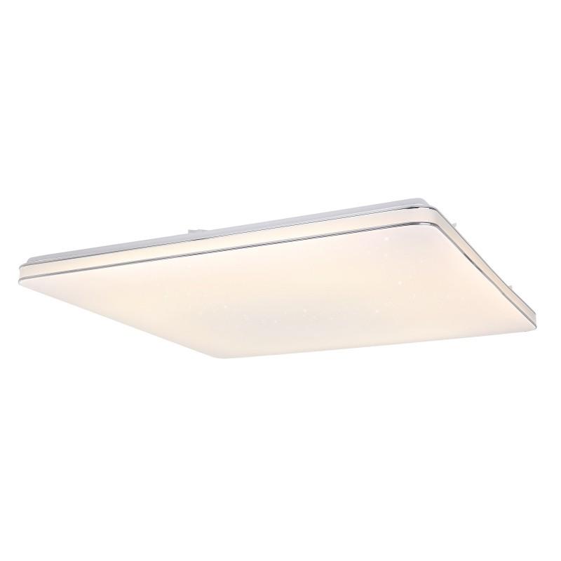 Plafoniera LED cu telecomanda design slim LASSY 80W 48406-80 GL, Lampi LED si Telecomanda, Corpuri de iluminat, lustre, aplice, veioze, lampadare, plafoniere. Mobilier si decoratiuni, oglinzi, scaune, fotolii. Oferte speciale iluminat interior si exterior. Livram in toata tara.  a