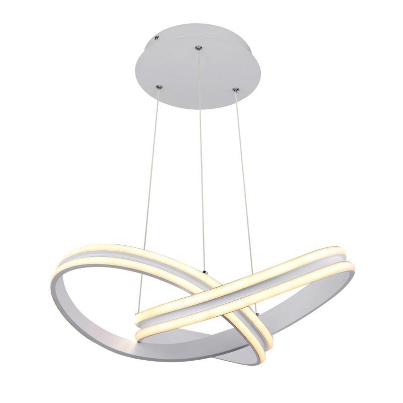 Lustra LED suspendata design modern ZUMMA 67842-60 GL, Magazin, Corpuri de iluminat, lustre, aplice, veioze, lampadare, plafoniere. Mobilier si decoratiuni, oglinzi, scaune, fotolii. Oferte speciale iluminat interior si exterior. Livram in toata tara.  a