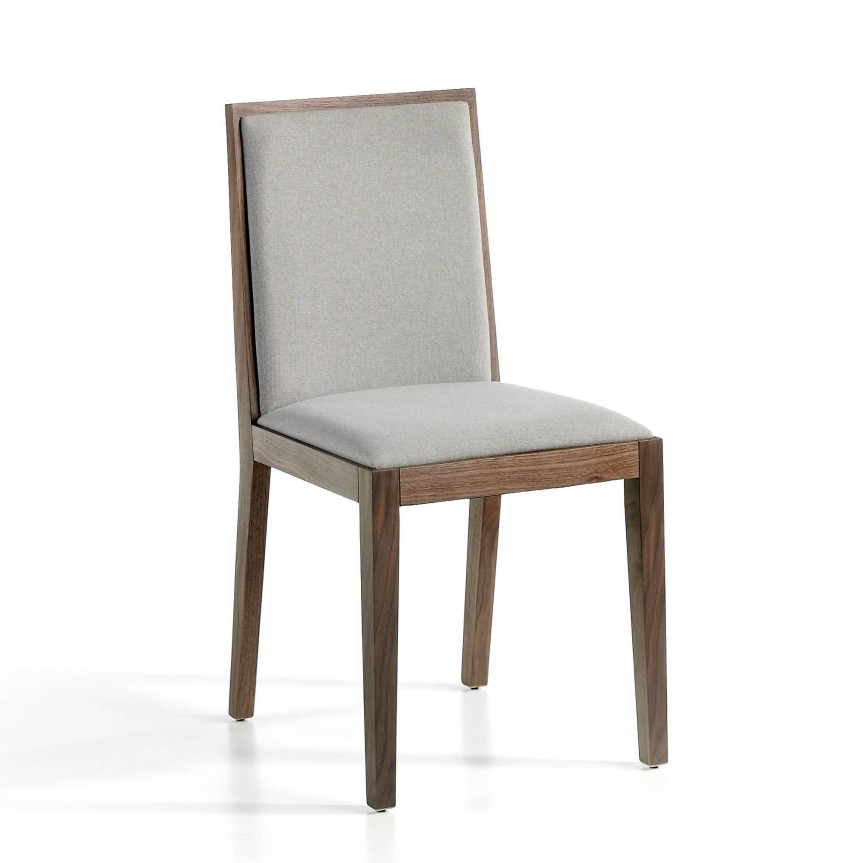 Scaun elegant design italian Wood AC-CPMK029, Magazin, Corpuri de iluminat, lustre, aplice, veioze, lampadare, plafoniere. Mobilier si decoratiuni, oglinzi, scaune, fotolii. Oferte speciale iluminat interior si exterior. Livram in toata tara.  a
