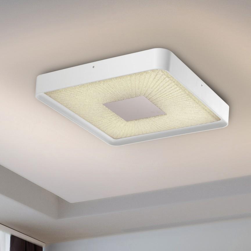 Plafoniera LED dimabila cu telecomanda Sunny I SV-590681, Plafoniere LED, Spoturi LED, Corpuri de iluminat, lustre, aplice, veioze, lampadare, plafoniere. Mobilier si decoratiuni, oglinzi, scaune, fotolii. Oferte speciale iluminat interior si exterior. Livram in toata tara.  a