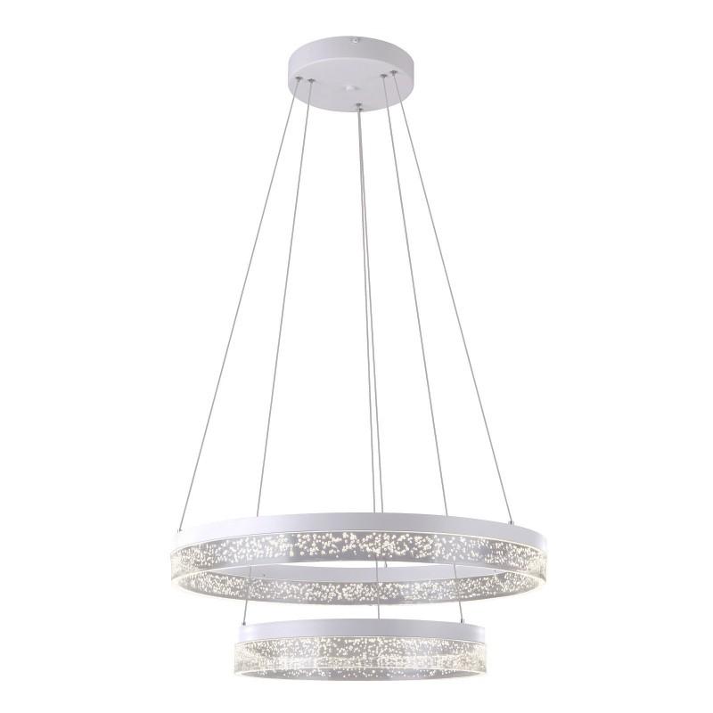 Lustra LED suspendata design modern SMITTY 60W 68225-60 GL, Lustre LED, Pendule LED, Corpuri de iluminat, lustre, aplice, veioze, lampadare, plafoniere. Mobilier si decoratiuni, oglinzi, scaune, fotolii. Oferte speciale iluminat interior si exterior. Livram in toata tara.  a