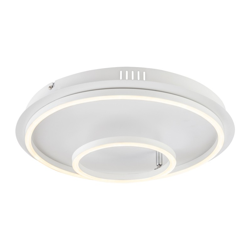 Plafoniera LED design modern WITTY 30W 67097-30DW GL, Plafoniere LED, Spoturi LED, Corpuri de iluminat, lustre, aplice, veioze, lampadare, plafoniere. Mobilier si decoratiuni, oglinzi, scaune, fotolii. Oferte speciale iluminat interior si exterior. Livram in toata tara.  a
