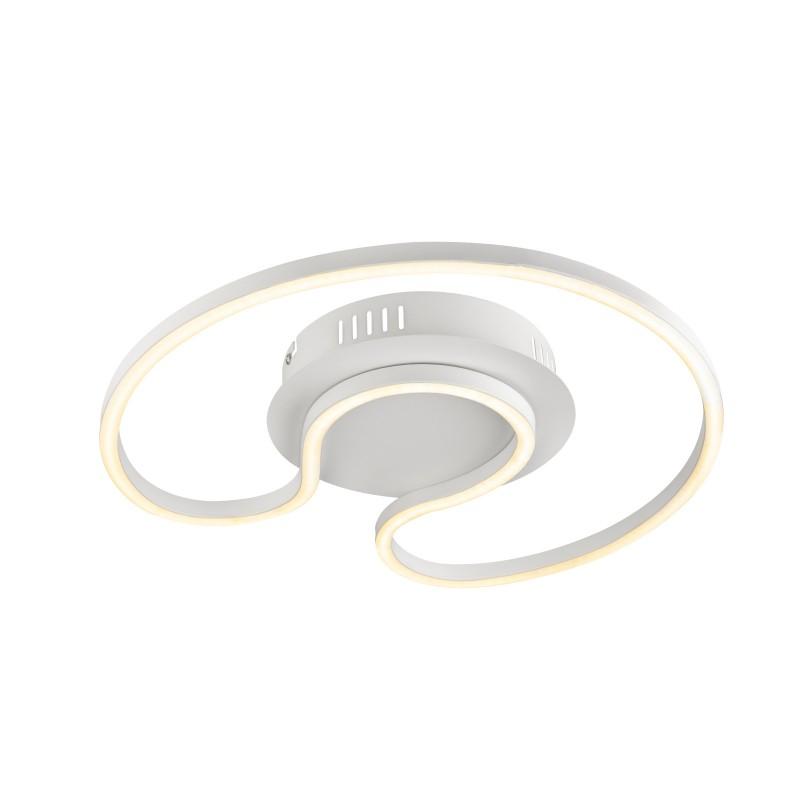 Plafoniera LED moderna design slim WITTY 30W 67097-30W GL, Plafoniere LED, Spoturi LED, Corpuri de iluminat, lustre, aplice, veioze, lampadare, plafoniere. Mobilier si decoratiuni, oglinzi, scaune, fotolii. Oferte speciale iluminat interior si exterior. Livram in toata tara.  a