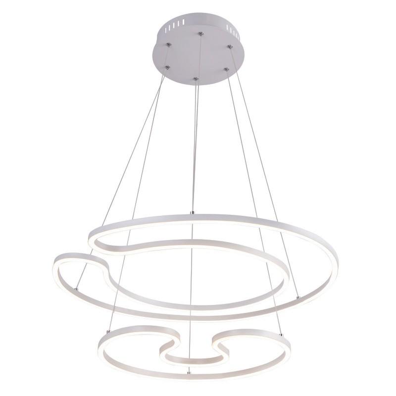 Lustra LED suspendata design modern WITTY 60W 67097-60W GL, Lustre LED, Pendule LED, Corpuri de iluminat, lustre, aplice, veioze, lampadare, plafoniere. Mobilier si decoratiuni, oglinzi, scaune, fotolii. Oferte speciale iluminat interior si exterior. Livram in toata tara.  a
