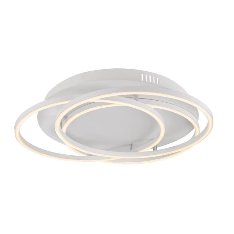 Plafoniera LED moderna design slim WITTY 40W 67097-40W GL, Plafoniere LED, Spoturi LED, Corpuri de iluminat, lustre, aplice, veioze, lampadare, plafoniere. Mobilier si decoratiuni, oglinzi, scaune, fotolii. Oferte speciale iluminat interior si exterior. Livram in toata tara.  a