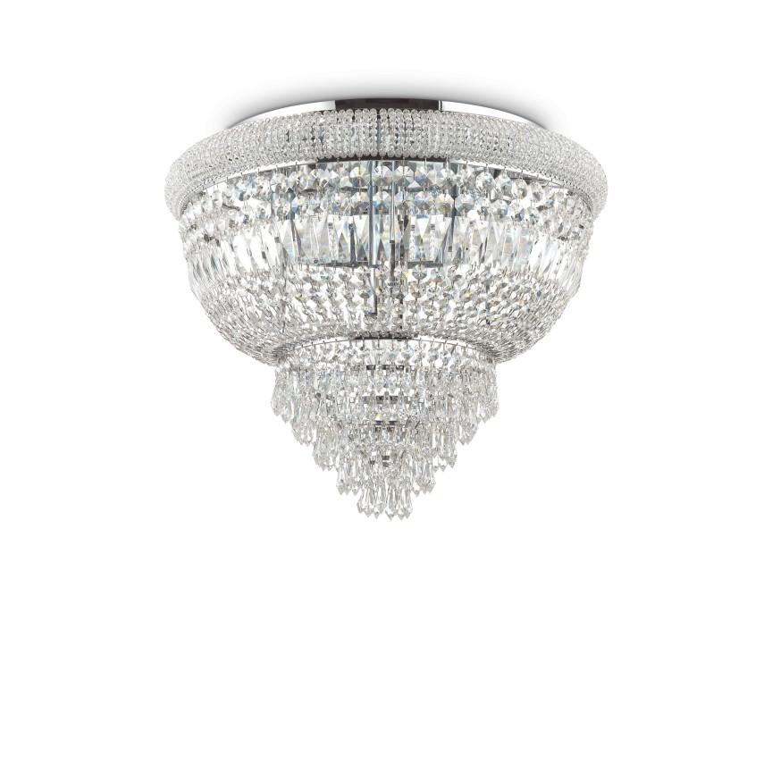 Plafoniera eleganta design clasic DUBAI PL6 CROMO 207186, Lustre aplicate, Plafoniere clasice, Corpuri de iluminat, lustre, aplice, veioze, lampadare, plafoniere. Mobilier si decoratiuni, oglinzi, scaune, fotolii. Oferte speciale iluminat interior si exterior. Livram in toata tara.  a