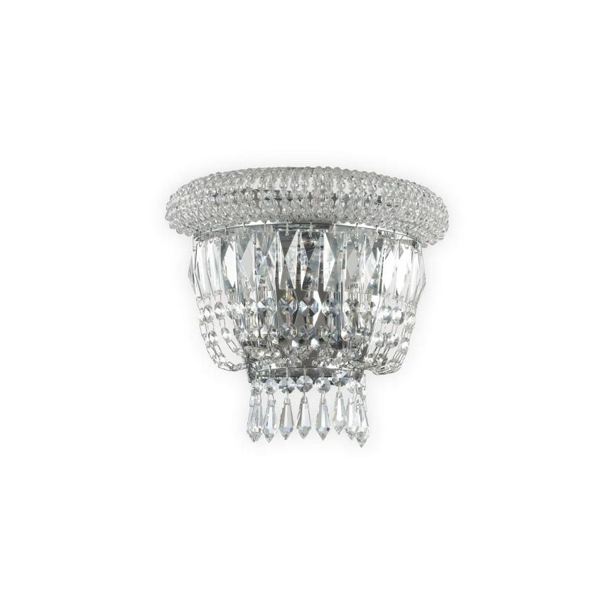 Aplica eleganta design clasic DUBAI AP2 CROMO 207155, Aplice de perete clasice, Corpuri de iluminat, lustre, aplice, veioze, lampadare, plafoniere. Mobilier si decoratiuni, oglinzi, scaune, fotolii. Oferte speciale iluminat interior si exterior. Livram in toata tara.  a