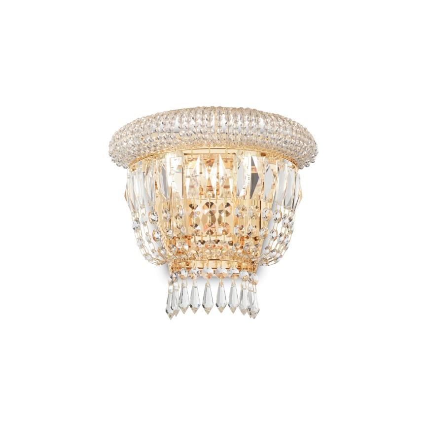 Aplica eleganta design clasic DUBAI AP2 OTTONE 201023, Aplice de perete clasice, Corpuri de iluminat, lustre, aplice, veioze, lampadare, plafoniere. Mobilier si decoratiuni, oglinzi, scaune, fotolii. Oferte speciale iluminat interior si exterior. Livram in toata tara.  a