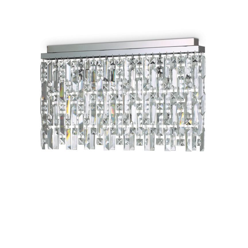Plafoniera eleganta design clasic ELISIR PL6 CROMO 200026, Lustre aplicate, Plafoniere clasice, Corpuri de iluminat, lustre, aplice, veioze, lampadare, plafoniere. Mobilier si decoratiuni, oglinzi, scaune, fotolii. Oferte speciale iluminat interior si exterior. Livram in toata tara.  a