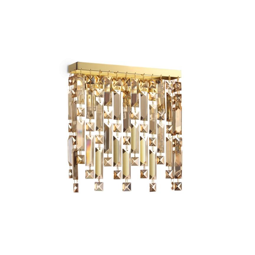 Aplica eleganta design clasic ELISIR AP3 OTTONE 200057, Aplice de perete clasice, Corpuri de iluminat, lustre, aplice, veioze, lampadare, plafoniere. Mobilier si decoratiuni, oglinzi, scaune, fotolii. Oferte speciale iluminat interior si exterior. Livram in toata tara.  a