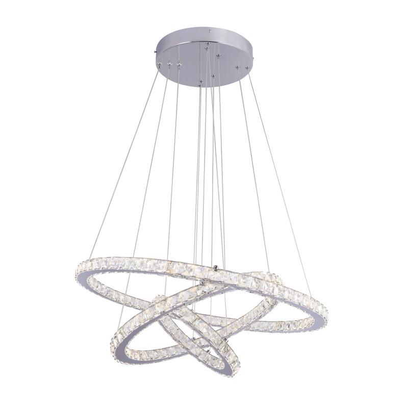 Lustra LED cu telecomanda, cristale K5 Marilyn I 67037-76 GL, Lampi LED si Telecomanda, Corpuri de iluminat, lustre, aplice, veioze, lampadare, plafoniere. Mobilier si decoratiuni, oglinzi, scaune, fotolii. Oferte speciale iluminat interior si exterior. Livram in toata tara.  a