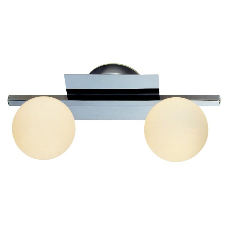 Aplica baie IP44 design modern CARDIFF 2L 5663-2L GL, Aplice pentru baie, oglinda, tablou, Corpuri de iluminat, lustre, aplice, veioze, lampadare, plafoniere. Mobilier si decoratiuni, oglinzi, scaune, fotolii. Oferte speciale iluminat interior si exterior. Livram in toata tara.  a
