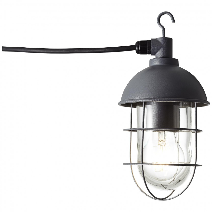 Lampa portabila iluminat exterior IP44 Utsira L-2,8metri 96350/63 BL, Iluminat design decorativ , Corpuri de iluminat, lustre, aplice, veioze, lampadare, plafoniere. Mobilier si decoratiuni, oglinzi, scaune, fotolii. Oferte speciale iluminat interior si exterior. Livram in toata tara.  a