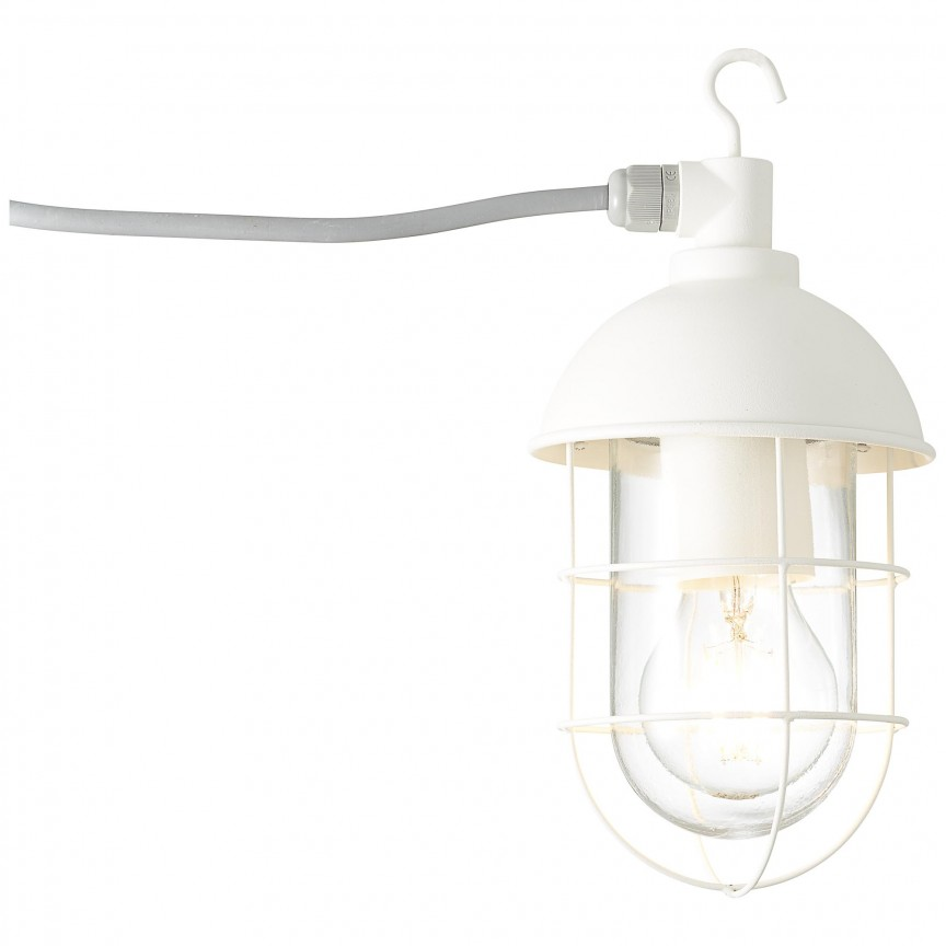 Lampa portabila iluminat exterior IP44 Utsira L-2,8metri alba 96350/05 BL, Lustre, Pendule suspendate de exterior, Corpuri de iluminat, lustre, aplice, veioze, lampadare, plafoniere. Mobilier si decoratiuni, oglinzi, scaune, fotolii. Oferte speciale iluminat interior si exterior. Livram in toata tara.  a