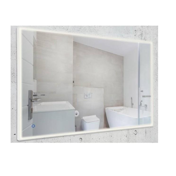 Oglinda baie cu iluminat LED IP44 74x118cm Lustro W0253 MX, Aplice pentru baie, oglinda, tablou, Corpuri de iluminat, lustre, aplice, veioze, lampadare, plafoniere. Mobilier si decoratiuni, oglinzi, scaune, fotolii. Oferte speciale iluminat interior si exterior. Livram in toata tara.  a