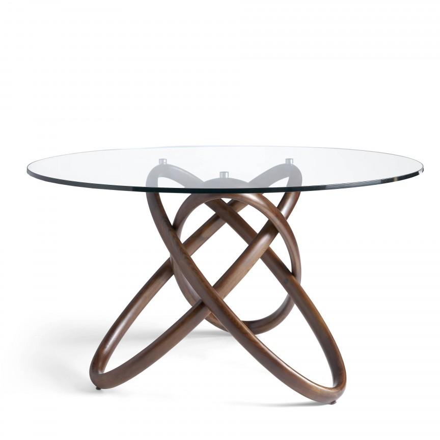 Masa dining design deosebit Walnut Wood, 150cm AC-DT16069-150, PROMOTII, Corpuri de iluminat, lustre, aplice, veioze, lampadare, plafoniere. Mobilier si decoratiuni, oglinzi, scaune, fotolii. Oferte speciale iluminat interior si exterior. Livram in toata tara.  a