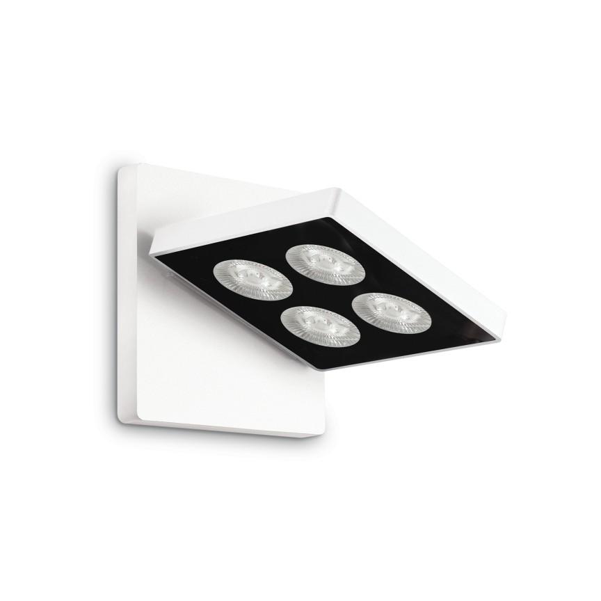 Aplica design modern LED GARAGE AP4 SQUARE BIANCO 205861, Spoturi - iluminat - cu 1 spot, Corpuri de iluminat, lustre, aplice, veioze, lampadare, plafoniere. Mobilier si decoratiuni, oglinzi, scaune, fotolii. Oferte speciale iluminat interior si exterior. Livram in toata tara.  a