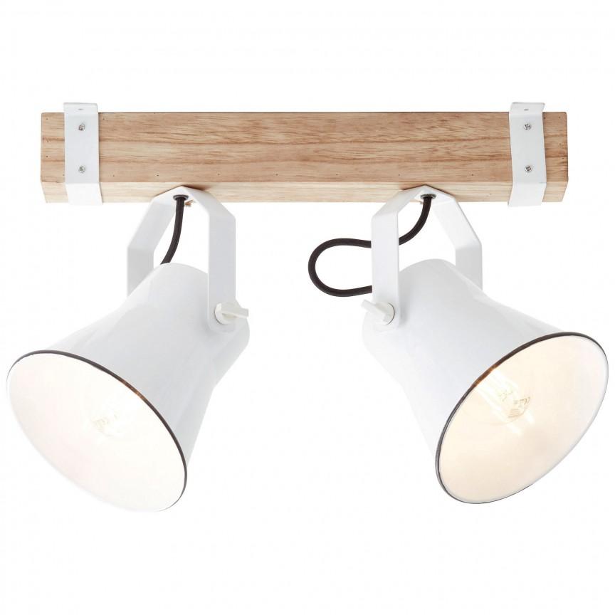 Plafoniera design rustic Plow 2L 82129/05 BL, Plafoniere, Spots, Corpuri de iluminat, lustre, aplice, veioze, lampadare, plafoniere. Mobilier si decoratiuni, oglinzi, scaune, fotolii. Oferte speciale iluminat interior si exterior. Livram in toata tara.  a