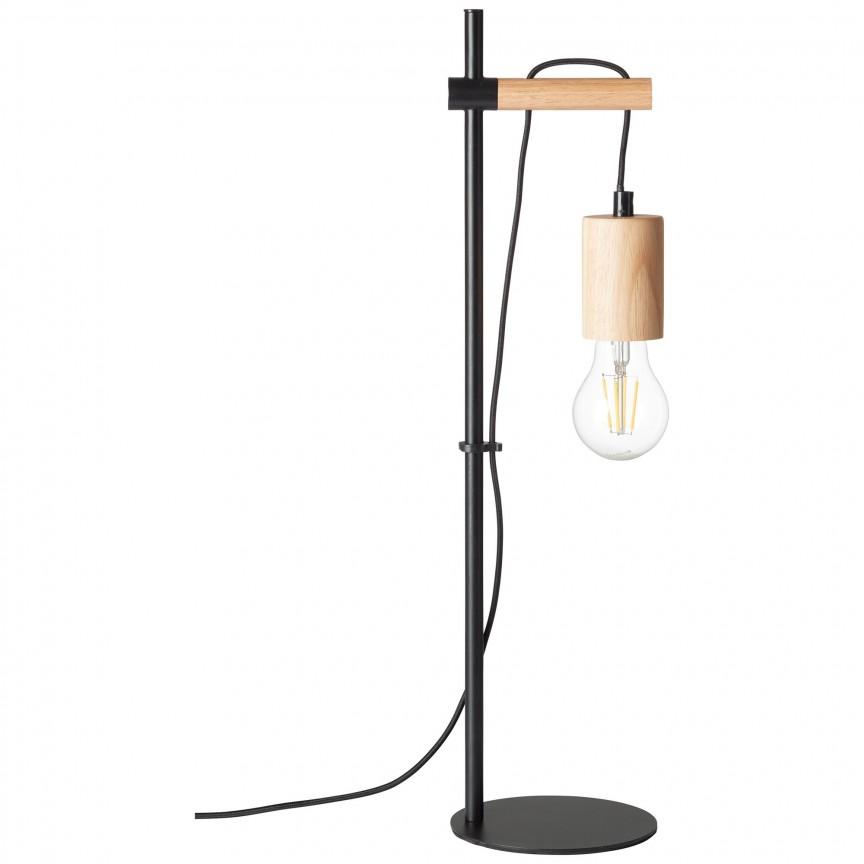 Lampa de masa minimalista design modern Jenji 99079/06 BL, Veioze, Corpuri de iluminat, lustre, aplice, veioze, lampadare, plafoniere. Mobilier si decoratiuni, oglinzi, scaune, fotolii. Oferte speciale iluminat interior si exterior. Livram in toata tara.  a