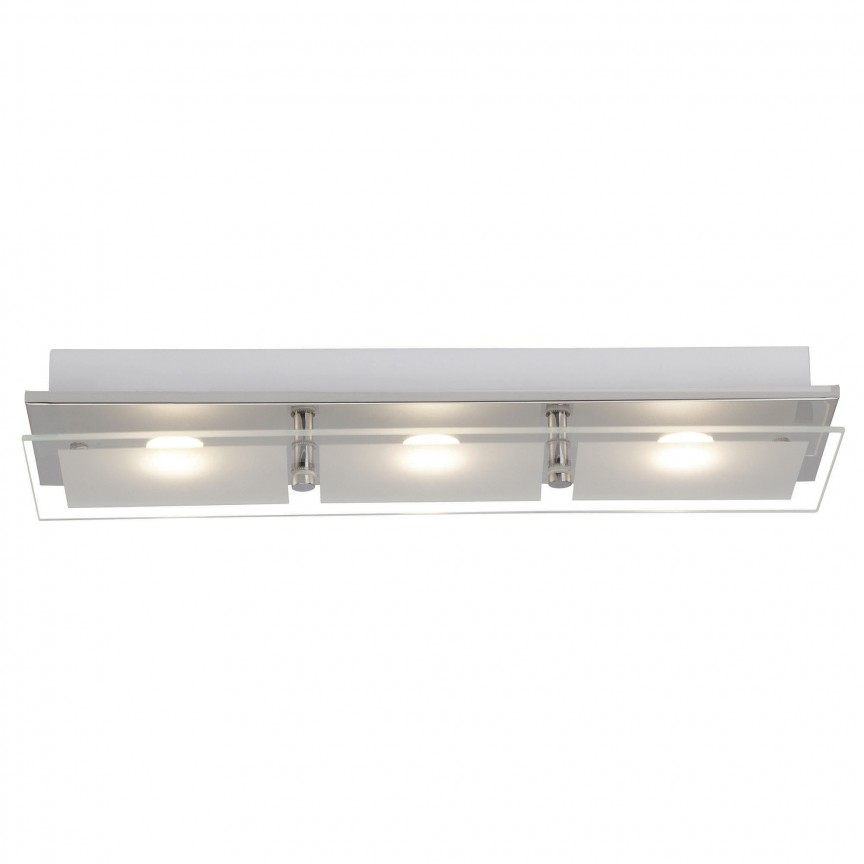 Aplica LED moderna perete / tavan World 3L G10430/15 BL, Aplice de perete LED, Corpuri de iluminat, lustre, aplice, veioze, lampadare, plafoniere. Mobilier si decoratiuni, oglinzi, scaune, fotolii. Oferte speciale iluminat interior si exterior. Livram in toata tara.  a