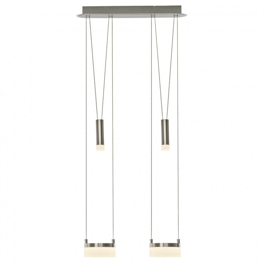 Lustra LED ajustabila design modern Better II G17572/13 BL, Lustre LED, Pendule LED, Corpuri de iluminat, lustre, aplice, veioze, lampadare, plafoniere. Mobilier si decoratiuni, oglinzi, scaune, fotolii. Oferte speciale iluminat interior si exterior. Livram in toata tara.  a