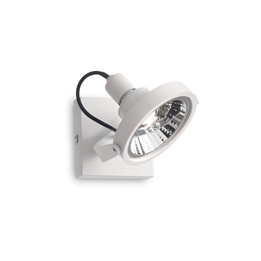 Aplica/ Plafoniera design modern GLIM PL1 BIANCO 200194, Spoturi - iluminat - cu 1 spot, Corpuri de iluminat, lustre, aplice, veioze, lampadare, plafoniere. Mobilier si decoratiuni, oglinzi, scaune, fotolii. Oferte speciale iluminat interior si exterior. Livram in toata tara.  a