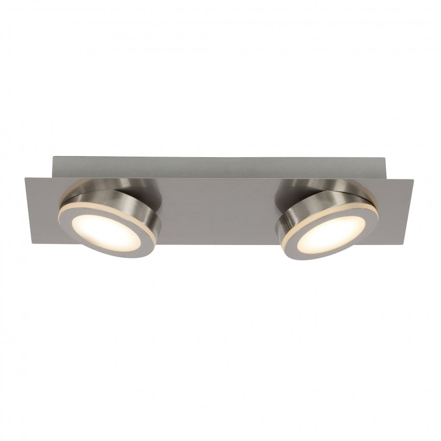 Plafoniera moderna cu 2 spoturi LED Champion G69329/13 BL, Spoturi - iluminat - cu 2 spoturi, Corpuri de iluminat, lustre, aplice, veioze, lampadare, plafoniere. Mobilier si decoratiuni, oglinzi, scaune, fotolii. Oferte speciale iluminat interior si exterior. Livram in toata tara.  a