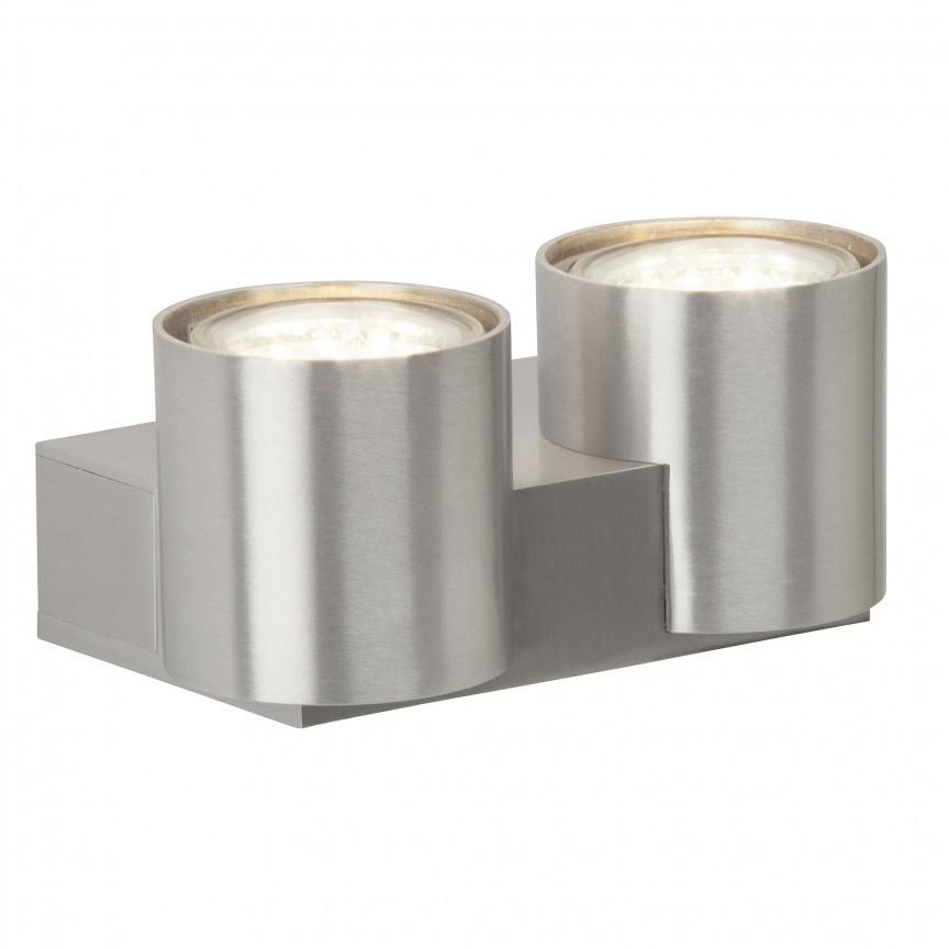 Aplica moderna design minimalist Izon II G94443/21 BL, Aplice de perete simple, Corpuri de iluminat, lustre, aplice, veioze, lampadare, plafoniere. Mobilier si decoratiuni, oglinzi, scaune, fotolii. Oferte speciale iluminat interior si exterior. Livram in toata tara.  a