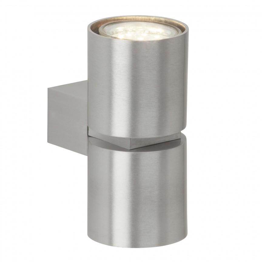 Aplica moderna ambientala design minimalist Izon II G94444/21 BL, Aplice de perete simple, Corpuri de iluminat, lustre, aplice, veioze, lampadare, plafoniere. Mobilier si decoratiuni, oglinzi, scaune, fotolii. Oferte speciale iluminat interior si exterior. Livram in toata tara.  a
