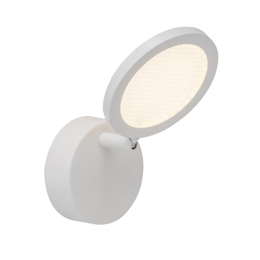 Aplica perete cu 1 spot LED directionabil Xave G71510/05 BL, Spoturi - iluminat - cu 1 spot, Corpuri de iluminat, lustre, aplice, veioze, lampadare, plafoniere. Mobilier si decoratiuni, oglinzi, scaune, fotolii. Oferte speciale iluminat interior si exterior. Livram in toata tara.  a