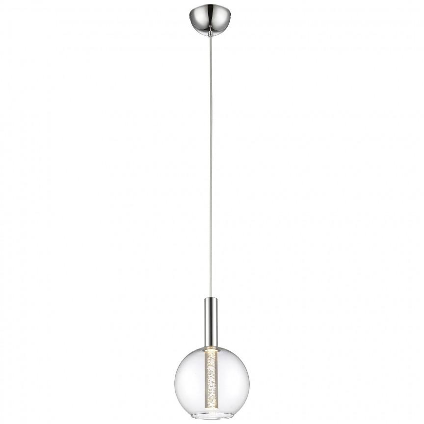 Pendul LED design modern Elegant G93525/15 BL, Lustre LED, Pendule LED, Corpuri de iluminat, lustre, aplice, veioze, lampadare, plafoniere. Mobilier si decoratiuni, oglinzi, scaune, fotolii. Oferte speciale iluminat interior si exterior. Livram in toata tara.  a