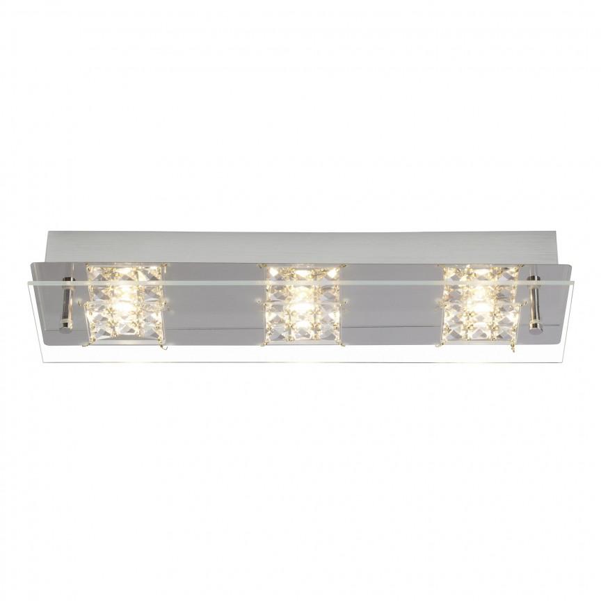 Plafoniera LED moderna Martino 15W G94266/15 BL, ILUMINAT INTERIOR LED , ⭐ modele moderne de lustre LED cu telecomanda potrivite pentru living, bucatarie, birou, dormitor, baie, camera copii (bebe si tineret), casa scarii, hol. ✅Design de lux premium actual Top 2020! ❤️Promotii lampi LED❗ ➽ www.evalight.ro. Alege oferte la sisteme si corpuri de iluminat cu LED dimabile (becuri cu leduri si module LED integrate cu lumina calda, naturala sau rece), ieftine si de lux. Cumpara la comanda sau din stoc, oferte si reduceri speciale cu vanzare rapida din magazine la cele mai bune preturi. Te aşteptăm sa admiri calitatea superioara a produselor noastre live în showroom-urile noastre din Bucuresti si Timisoara❗ a