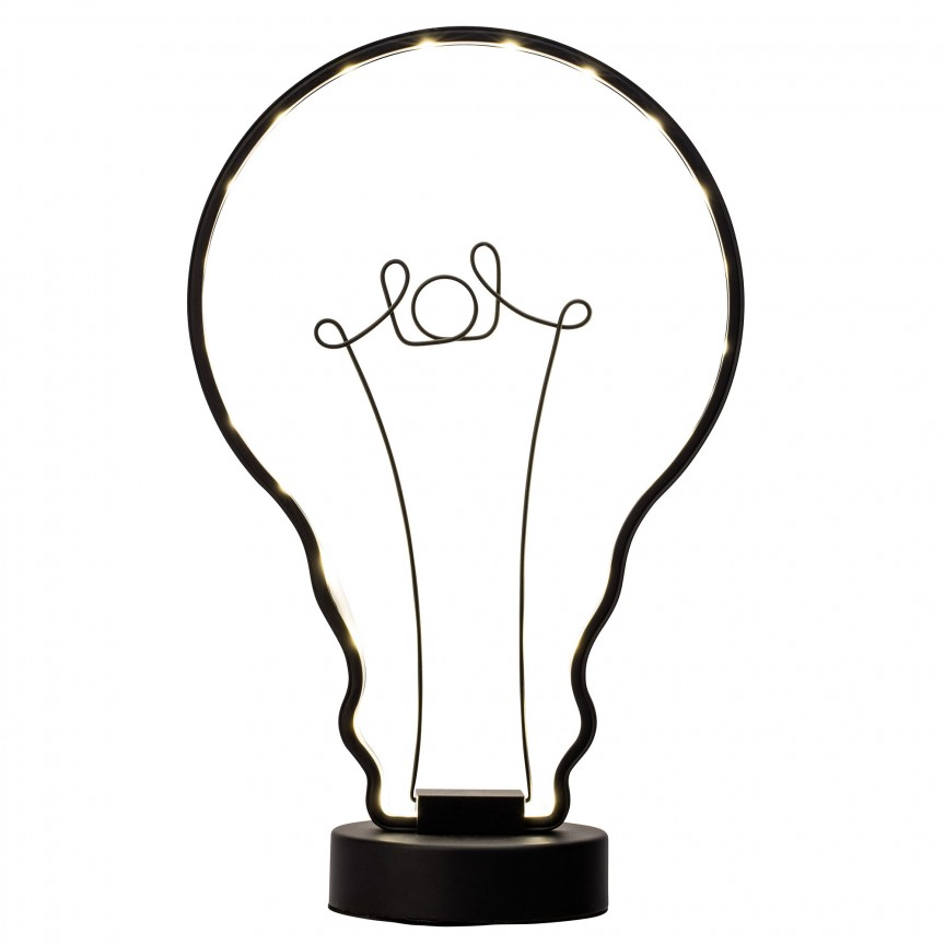 Veioza LED / Lampa de masa decorativa Catrix G98967/06 BL, Veioze LED, Lampadare LED, Corpuri de iluminat, lustre, aplice, veioze, lampadare, plafoniere. Mobilier si decoratiuni, oglinzi, scaune, fotolii. Oferte speciale iluminat interior si exterior. Livram in toata tara.  a