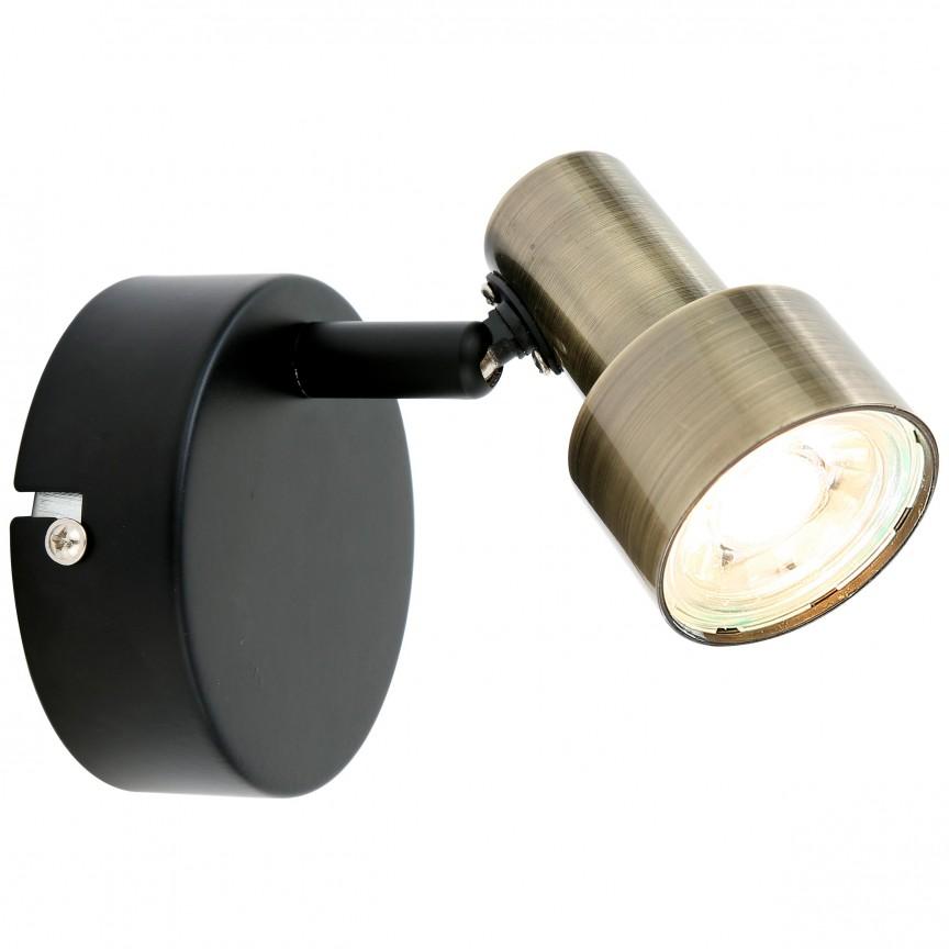 Aplica LED moderna directionabila Croyden G79410/12 BL, Spoturi - iluminat - cu 1 spot, Corpuri de iluminat, lustre, aplice, veioze, lampadare, plafoniere. Mobilier si decoratiuni, oglinzi, scaune, fotolii. Oferte speciale iluminat interior si exterior. Livram in toata tara.  a