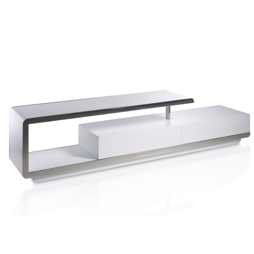 Comoda TV eleganta design LUX Gloria AC-F6080, Dulapuri - Comode, Corpuri de iluminat, lustre, aplice, veioze, lampadare, plafoniere. Mobilier si decoratiuni, oglinzi, scaune, fotolii. Oferte speciale iluminat interior si exterior. Livram in toata tara.  a