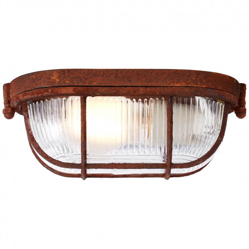 Plafoniera design Industrial Bobbi ruginie 94458/60 BL, NOU ! Lustre VINTAGE, RETRO, INDUSTRIA Style, Corpuri de iluminat, lustre, aplice, veioze, lampadare, plafoniere. Mobilier si decoratiuni, oglinzi, scaune, fotolii. Oferte speciale iluminat interior si exterior. Livram in toata tara.  a