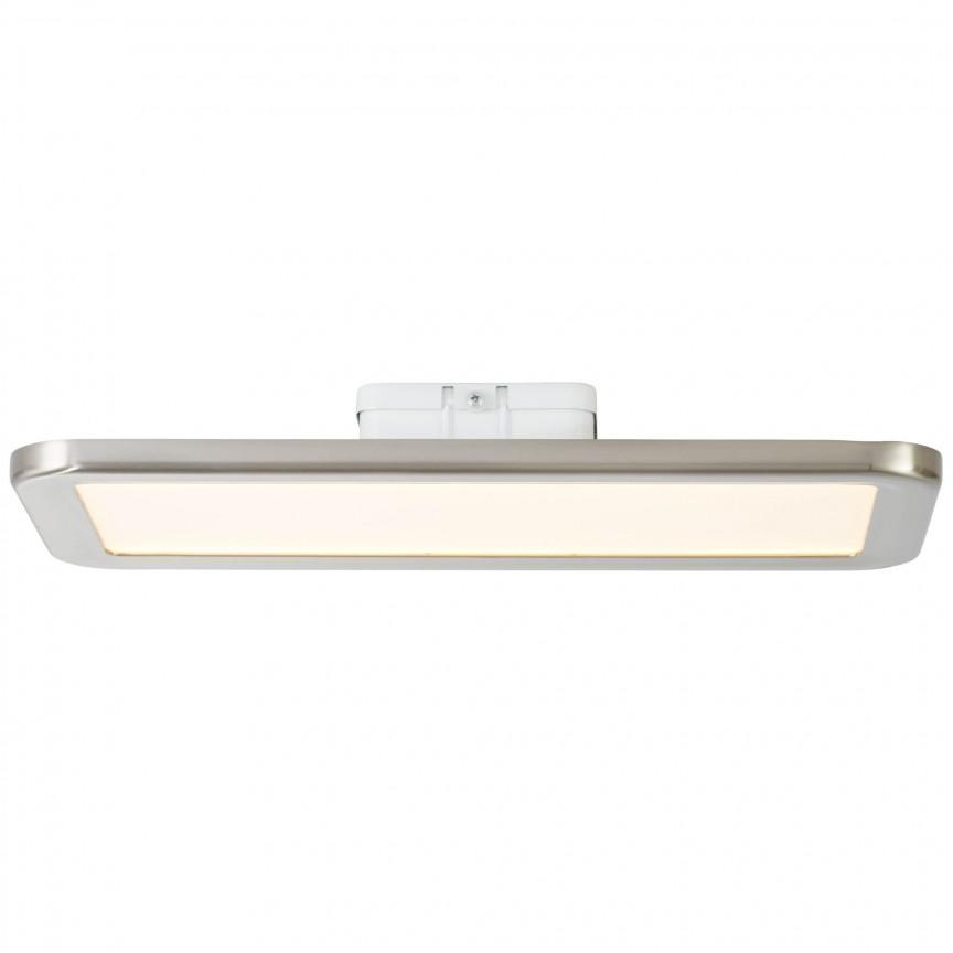 Plafoniera LED pentru baie design slim Neptun 40x20cm G94485/13 BL, Plafoniere cu protectie pentru baie, Corpuri de iluminat, lustre, aplice, veioze, lampadare, plafoniere. Mobilier si decoratiuni, oglinzi, scaune, fotolii. Oferte speciale iluminat interior si exterior. Livram in toata tara.  a