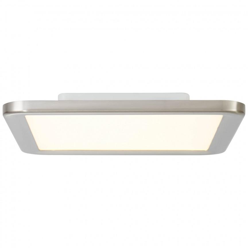 Plafoniera LED pentru baie design slim Neptun 30x30cm G94486/13 BL, Plafoniere cu protectie pentru baie, Corpuri de iluminat, lustre, aplice, veioze, lampadare, plafoniere. Mobilier si decoratiuni, oglinzi, scaune, fotolii. Oferte speciale iluminat interior si exterior. Livram in toata tara.  a