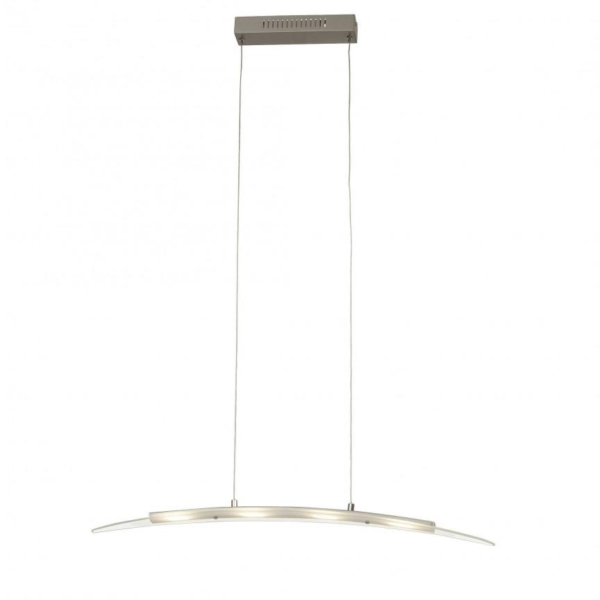 Lustra LED suspendata design modern Panara G93548/13 BL, Lustre LED, Pendule LED, Corpuri de iluminat, lustre, aplice, veioze, lampadare, plafoniere. Mobilier si decoratiuni, oglinzi, scaune, fotolii. Oferte speciale iluminat interior si exterior. Livram in toata tara.  a