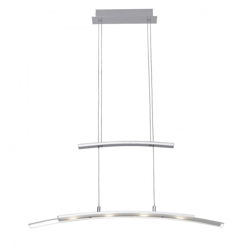 Lustra LED inaltime reglabila Bernadette 4L G93451/75 BL, Cele mai noi produse 2019 a