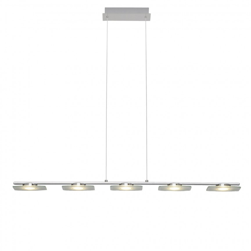 Lustra LED suspendata design modern Arlena 5L G93435/15 BL, Lustre LED, Pendule LED, Corpuri de iluminat, lustre, aplice, veioze, lampadare, plafoniere. Mobilier si decoratiuni, oglinzi, scaune, fotolii. Oferte speciale iluminat interior si exterior. Livram in toata tara.  a
